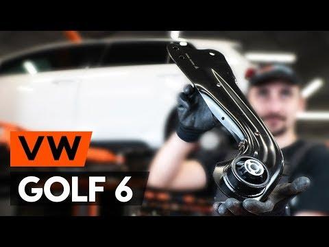 Как заменить задний продольный рычаг VW GOLF 6 (5K1) (ВИДЕОУРОК AUTODOC)