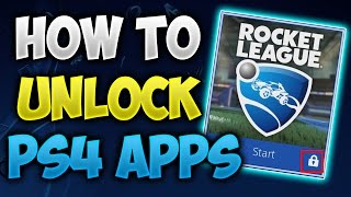 How To Unlock Your LOCKED PS4 Games/Apps!!(2017 Tutorial)