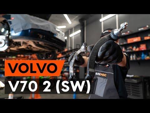 Как заменить наконечники поперечной рулевой тяги наVOLVO V70 2 (SW) (ВИДЕОУРОК AUTODOC)
