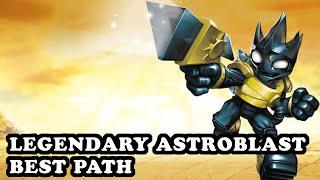 getlinkyoutube.com-Skylanders Superchargers - Legendary Astroblast - Cosmic Technology Path - BEST PATH - GAMEPLAY