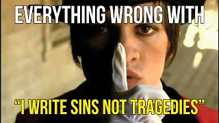 "getlinkyoutube.com-Everything Wrong With Panic! At The Disco - ""I Write Sins Not Tragedies"""