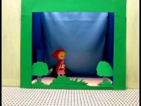 Teatrinho de Fantoches(Chapeuzinho Vermelho)