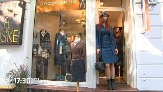 getlinkyoutube.com-Hamburger 2-Meter-Model entwirft Kleidung für große Frauen