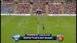 getlinkyoutube.com-Manchester City - Manchester United 2-3 (Community Shield 2011)