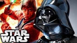 How Darth Vader Found Out Luke Skywalker Was His Son (Canon) - Star Wars Explained