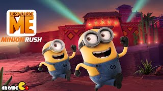 getlinkyoutube.com-Despicable Me: Minion Rush - April Fool's Special Mission Eduardo's House BMX Bike and Carl!!!