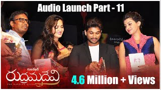 Rudrama Devi Movie Audio Launch Part 4 - Anushka, Allu Arjun, Rana