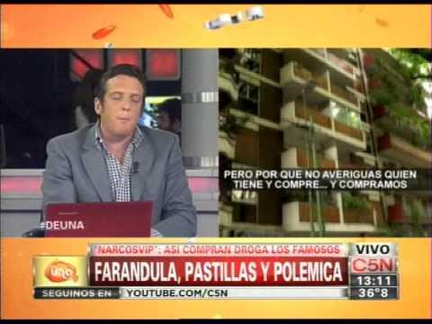 C5N - DE UNA: NARCOS VIP. ASI COMPRAN DROGA LOS FAMOSOS