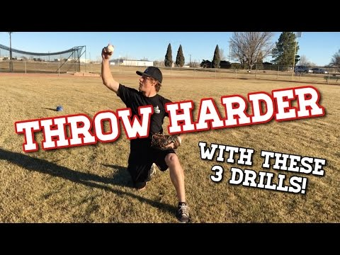 My 3 Favorite Drills to THROW HARDER in Baseball! - Baseball Throwing Drills
