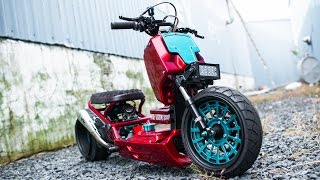 getlinkyoutube.com-Scooters are Awesome 2015 // HD Honda Ruckus Compilation