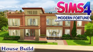 getlinkyoutube.com-The Sims 4 House Build - Modern Fortune Family Home With Pool