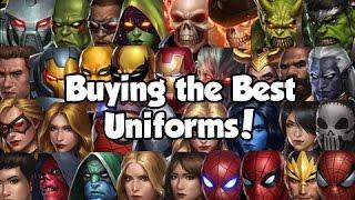 getlinkyoutube.com-[Marvel Future Fight] Buying the Best Uniforms!
