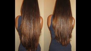 getlinkyoutube.com-How to cut layers in your own hair tutorial - LifeAsDiana
