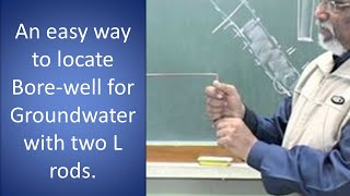 getlinkyoutube.com-Ground Water Search by L rod Dowsing.