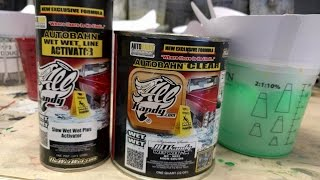 Download video how to flow coat for Autobahn body and paint