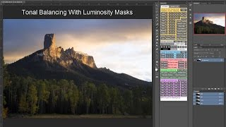 getlinkyoutube.com-Tonal Balancing With Luminosity Masks