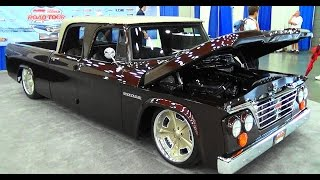 getlinkyoutube.com-68 Dodge D200 Quad Cab NSRA Street Rod Nationals 2015