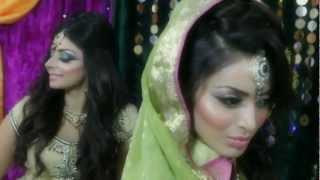 getlinkyoutube.com-Mendhi Asian Bridal Makeup Tutorial by Mus