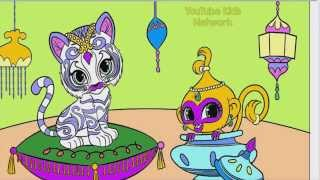 getlinkyoutube.com-Shimmer and Shine Color Episode Nahal and Tala