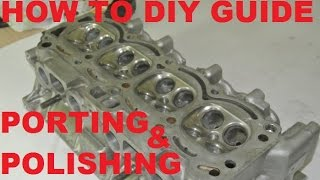 getlinkyoutube.com-Cylinder head porting and polishing - how to diy guide