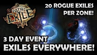 getlinkyoutube.com-Path of Exiles Everywhere: 20 Exiles Per Zone Event Gameplay! (Hardcore)