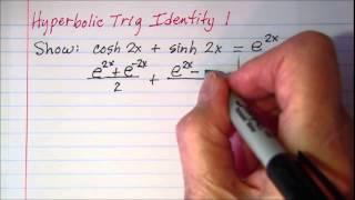 Hyperbolic Trig Identity 1