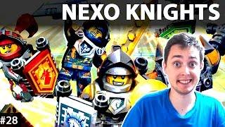 getlinkyoutube.com-LEGO Nexo Knights Po Polsku | CZY BROT ZDĄŻY DO LAVALANDII - Lava Lands