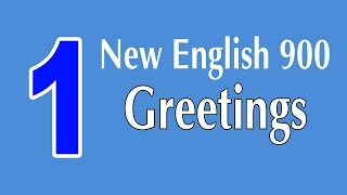 getlinkyoutube.com-Learning English Speaking Course - New English Lesson 1 - Greetings