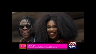 'With You'- Let's Talk Entertainment on JoyNews (14-3-18)