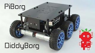 Diddyborg Autonomous Raspberry Pi Robot