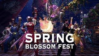 Monster Hunter: World - Spring Blossom Fest