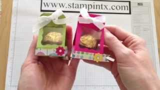 getlinkyoutube.com-How to Create a Candy / Treat Holder