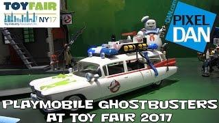 getlinkyoutube.com-Playmobile Ghostbusters Product Display at New York Toy Fair 2017