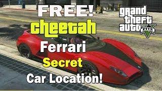 getlinkyoutube.com-GTA 5- Free Cheetah Car Trick! - Secret Ferrari (Cheetah) Car Location!