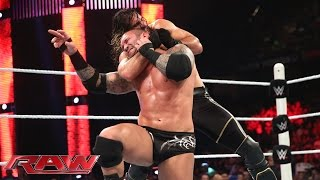 getlinkyoutube.com-Randy Orton vs. Seth Rollins - WWE World Heavyweight Championship Match: Raw, Aug. 10, 2015