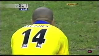 getlinkyoutube.com-Thierry Henry vs Aston Villa 03/04 Away