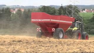 HORSCH Titan UW - Der Umladewagen für effizientes Erntemengement