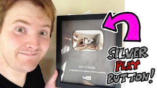 I Got My Silver Play Button!