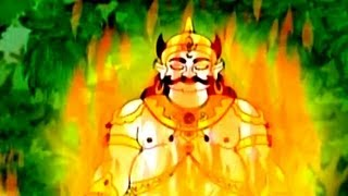 getlinkyoutube.com-Kumbhakarna : The Sleeping Demon - Tamil Animated Story Part 3