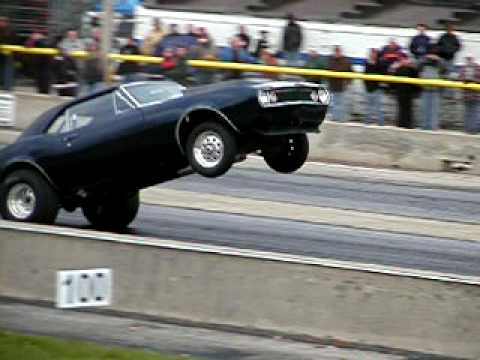 1967 Chevy Camaro Wheelie