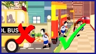 getlinkyoutube.com-Road Safety for kids  Fun  N  Learn