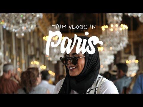 PARIS DAY 3 | أبلة تيم في القصر والحديقة : حرام ماتشوفون هالفيديو