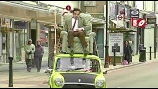 getlinkyoutube.com-مستر بين يقود فوق سقف السيارة