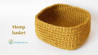 getlinkyoutube.com-Hemp basket