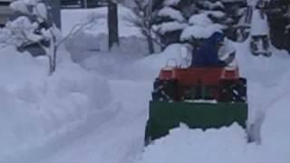 getlinkyoutube.com-トラクターで除雪 バックオーライ!!