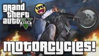 getlinkyoutube.com-GTA V: MOTORCYCLE MADNESS! (GTA 5 Online Funny Moments)