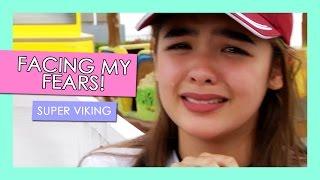 getlinkyoutube.com-Facing My Fears! Super Viking at Sky Ranch | Andrea B.
