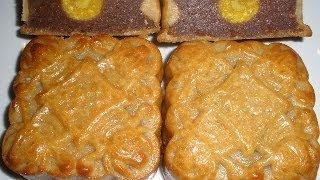 getlinkyoutube.com-How to make Red Bean Mooncake