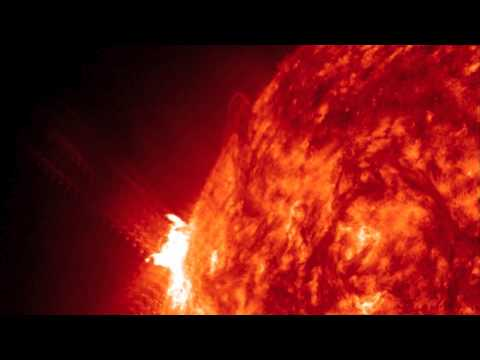 Twisting solar eruption