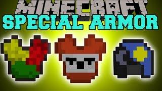 getlinkyoutube.com-Minecraft: SPECIAL ARMOR (TONS OF UNIQUE ARMOR & ABILITIES!) Mod Showcase
